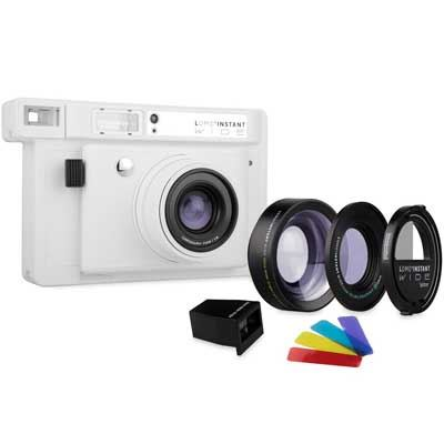 Lomography LomoInstant Wide Combo Film Camera  White