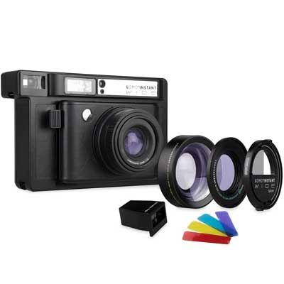 Lomography LomoInstant Wide Combo Film Camera  Black