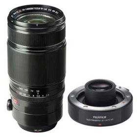 Fujifilm XF 50-140mm f2.8 WR OIS Lens with Fuji 1.4X XF TC WR Teleconverter