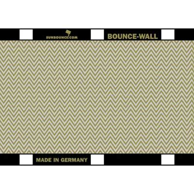 Image of California Sunbounce Bounce Wall Reflector -Zebra Gold/Silver