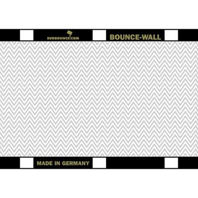 Image of California Sunbounce Bounce Wall Reflector - Zig-Zag Silver/White