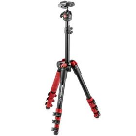 Manfrotto Befree One Travel Tripod - Red