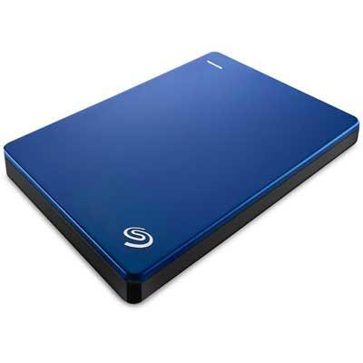 Seagate Backup Plus Slim Portable Hard Drive  1TB  Blue