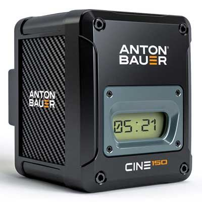 Image of Anton Bauer Cine 150 Gold Mount Battery