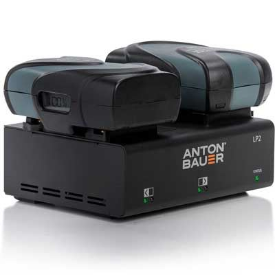 Image of Anton Bauer LP2 Dual Gold Mount Charger