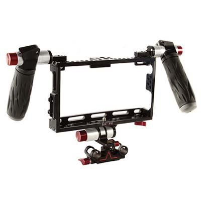 Shape Cage with Quick Adjust Handles and 15mm Rod Mount for Atomos Shogun + Assassin