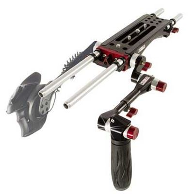 Shape V-Lock Quick Release Baseplate with Adjustable Arm for Sony FS7