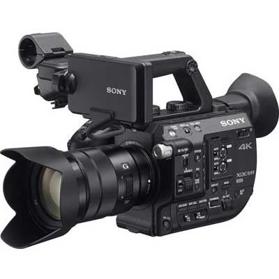 Sony PXWFS5K 4K Professional Camcorder with 18105mm Lens