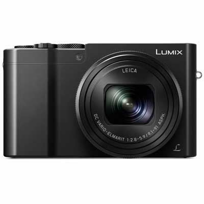 Panasonic LUMIX DMC-TZ100 Digital Camera - Black