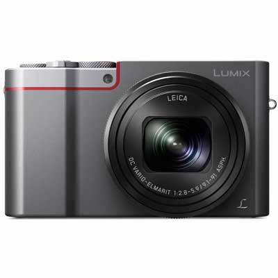 Panasonic LUMIX DMCTZ100 Digital Camera  Silver
