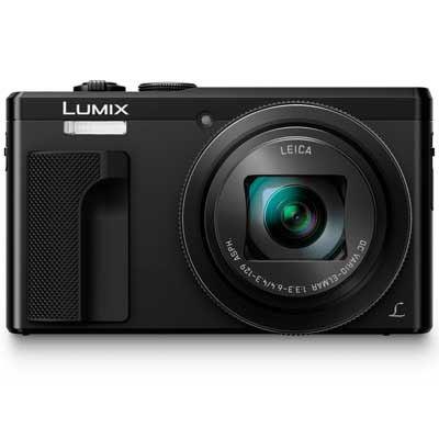 Panasonic LUMIX DMCTZ80 Digital Camera  Black