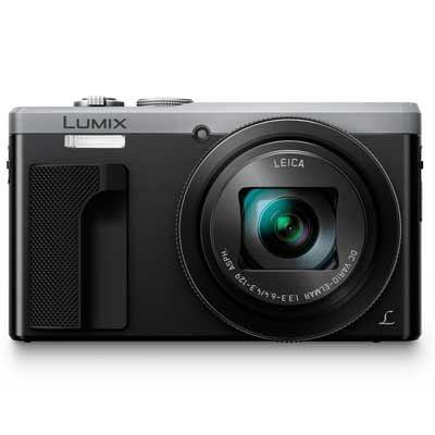 Panasonic LUMIX DMCTZ80 Digital Camera  Silver