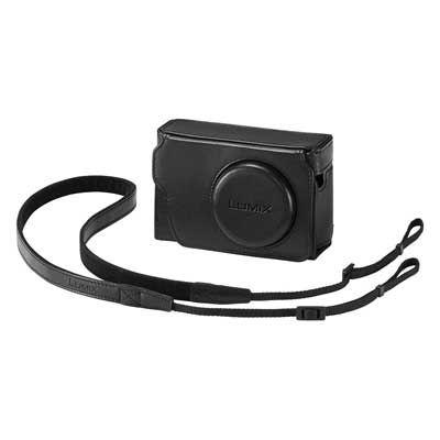 Panasonic TZ80 Leather Case and Battery Kit - Black