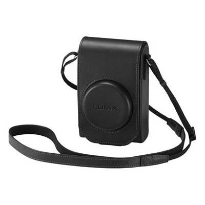 Panasonic TZ100 Leather Case  Black