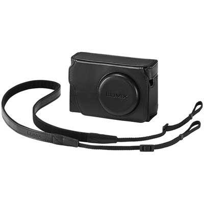 Panasonic TZ80 Leather Case - Black
