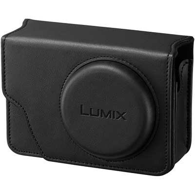 Panasonic TZ100/TZ80 PU Leather Case - Black