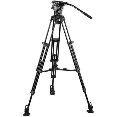 Image of E-Image Tripod GH06 with GC752 and Adjustable Mid Spreader