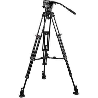 E-Image Tripod GH08 with GA752 and Adjustable Mid Spreader