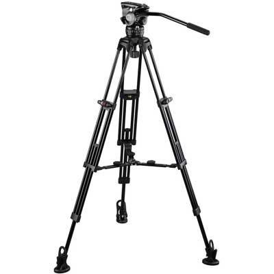 E-Image Tripod GH10 with GA752 and Adjustable Mid/Floor Spreader