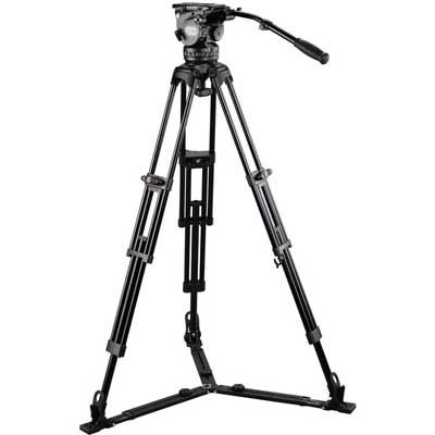 Image of E-Image Tripod GH15 with GA102 with Adjustable Mid/Floor Spreader