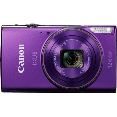 Canon IXUS 285 HS Digital Camera  Purple
