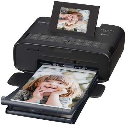 Canon SELPHY CP1200 Compact Photo Printer - Black