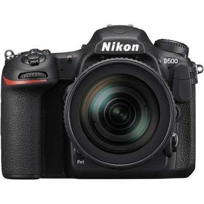 Image of Nikon D500 Digital SLR Camera with 16-80mm f2.8-4 VR Lens