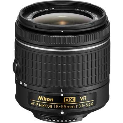 Nikon 18-55mm f3.5-5.6 G AF-P DX VR Lens