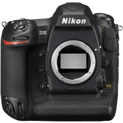 Nikon D5 Digital SLR Camera Body - Dual Compact Flash