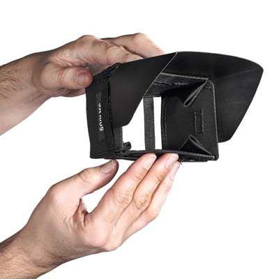 Sachtler Bags  Mini Hood for 3.5 Diameter LCD (16:9)