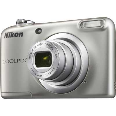 Nikon Coolpix A10 Digital Camera  Silver