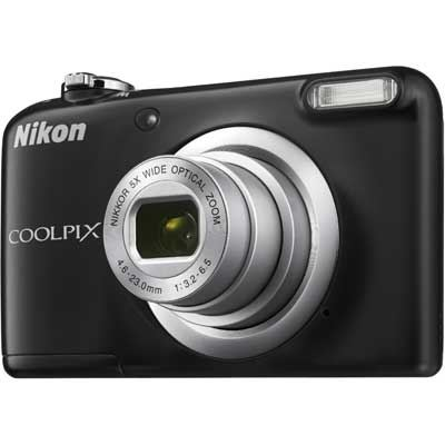 Nikon Coolpix A10 Digital Camera  Black