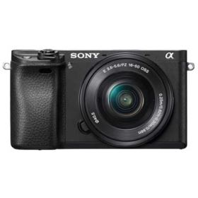 Sony Alpha A6300 Digital Camera with 16-50mm Power Zoom Lens