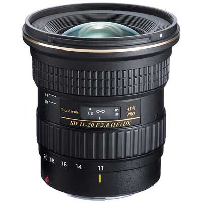 Tokina 1120mm f2.8 ATX PRO DX Lens  Canon Fit