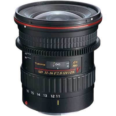 Tokina 1116mm f2.8 ATX PRO DX V Lens  Canon Fit