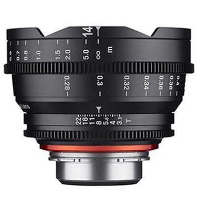 Samyang 14mm T3.1 XEEN Cine Lens - Canon Fit