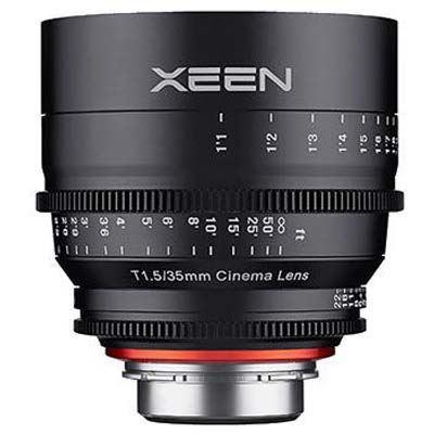 Samyang 35mm T1.5 XEEN Cine Lens -  Sony E Fit