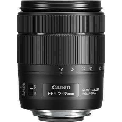 Canon EF-S 18-135mm f3.5-5.6 IS Nano USM Lens
