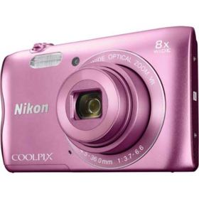 Nikon Coolpix A300 Digital Camera - Pink