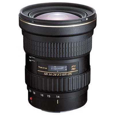 Tokina 1420mm f2 ATX PRO DX Lens  Canon Fit