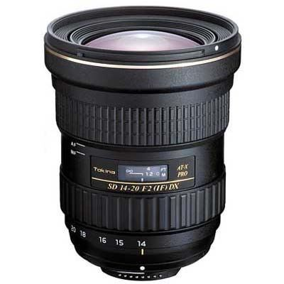 Tokina 14-20mm f2 AT-X PRO DX Lens - Nikon Fit