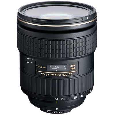 Tokina 2470mm f 2.8 ATX PRO FX Lens  Nikon Fit