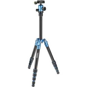 PrimaPhoto Small Travel Tripod - Blue