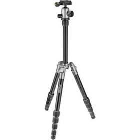 PrimaPhoto Small Travel Tripod - Silver