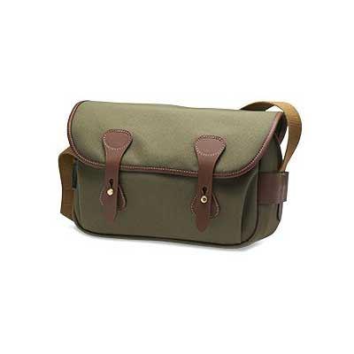 Billingham S3 Shoulder Bag - Sage FibreNyte / Chocolate