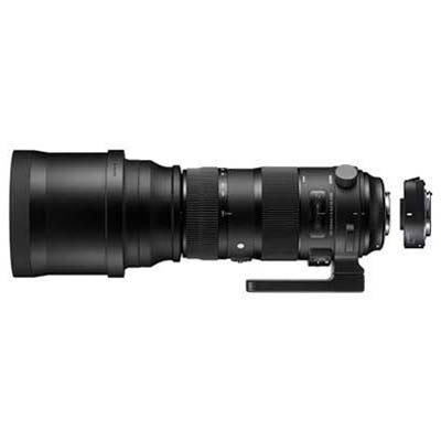 Sigma 150-600mm f5-6.3 SPORT DG OS HSM Lens with 1.4x Teleconverter - Nikon Fit