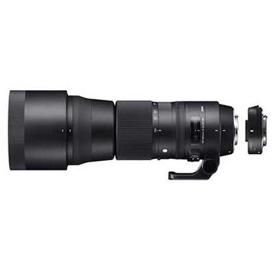 Sigma 150-600mm f5-6.3 Contemporary DG OS HSM Lens with 1.4x Teleconverter - Nikon Fit