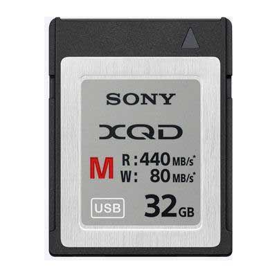 Sony 32GB XQD Memory Card -  M Series (440MB/Sec Read 80MB/Sec Write)