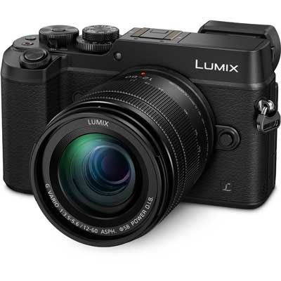 Panasonic LUMIX DMC-GX8 Digital Camera Body with 12-60mm Lens