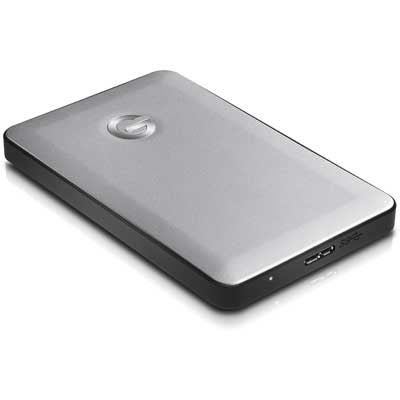 GTechnology 3TB GDrive Mobile USB 3.0 Hard Drive